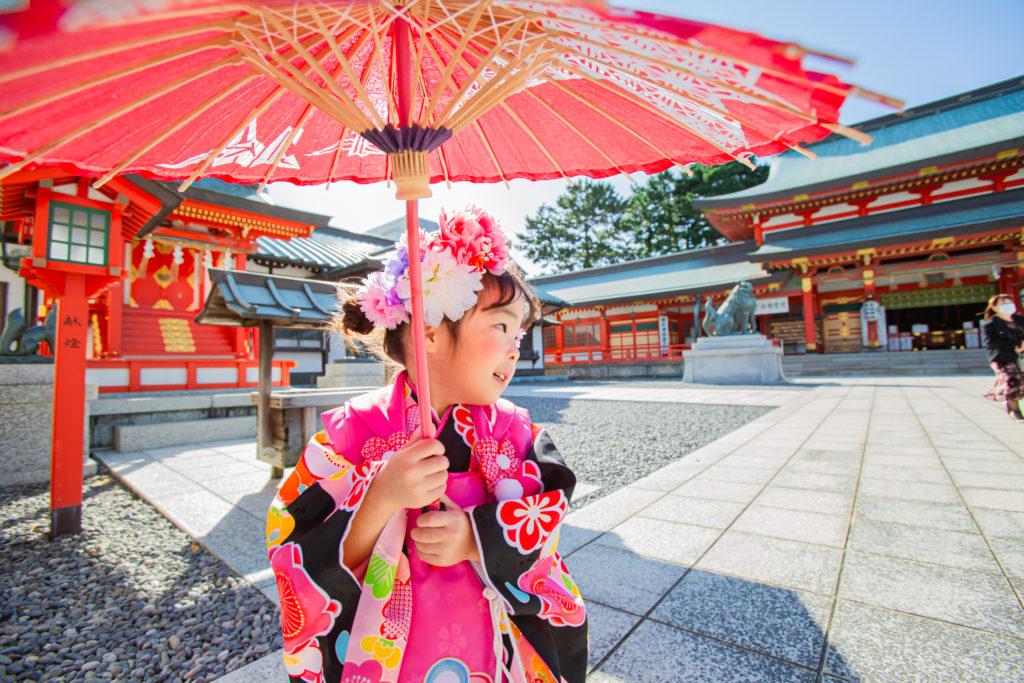 七五三撮影in五社神社